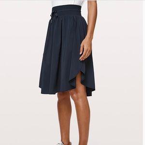 Lululemon The Everyday Skirt True Navy Size 6